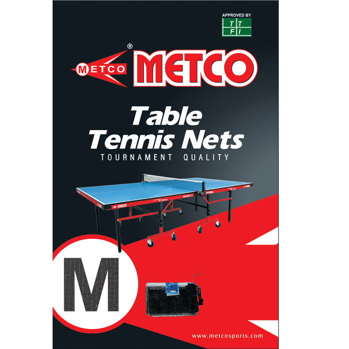 0645 | METCO TOURNAMENT QUALITY PAINTED TT NET